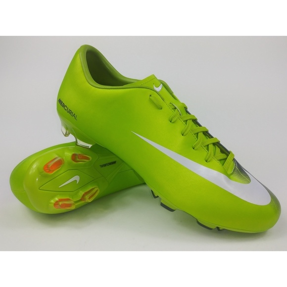 the latest 64133 4628e Nike Mens Rare Mercurial Victory FG Green NWT